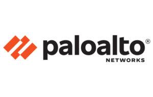 Palo Alto Networks corporate logo in orange and black