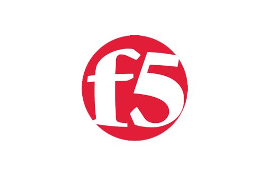 F5 corporate logo in red