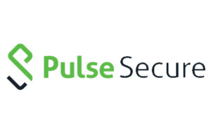 Pulse Secure corporate logo in green and black